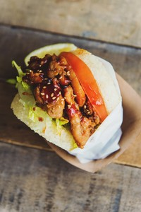BBQ Chicken Koja
